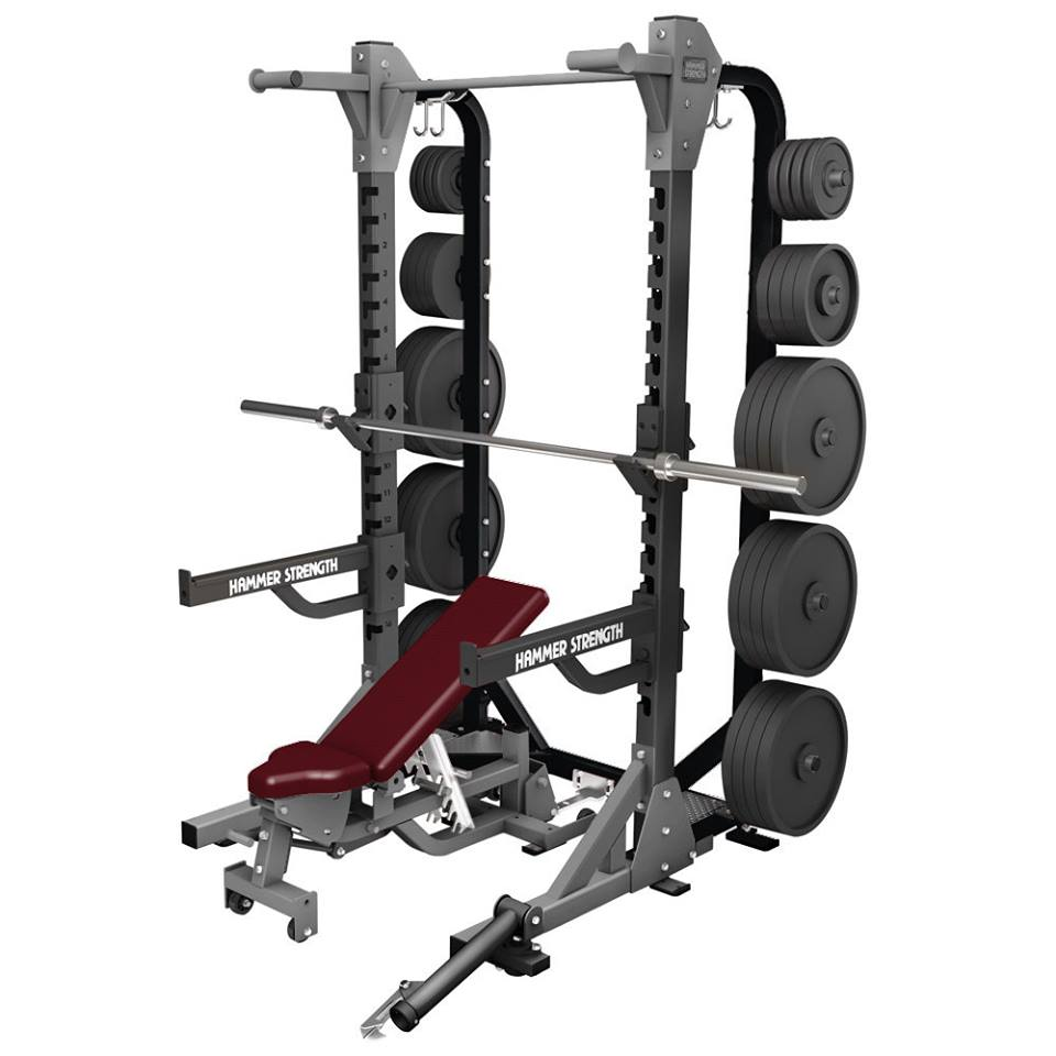 Hammer Strength HD Elite Half Rack x 2