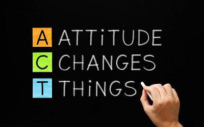 YOUR ATTITUDE DETERMINES YOUR ALTITUDE!