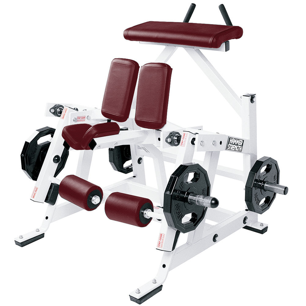 Hammer Strength Plate Loaded Iso-Lateral Kneeling Leg Curl