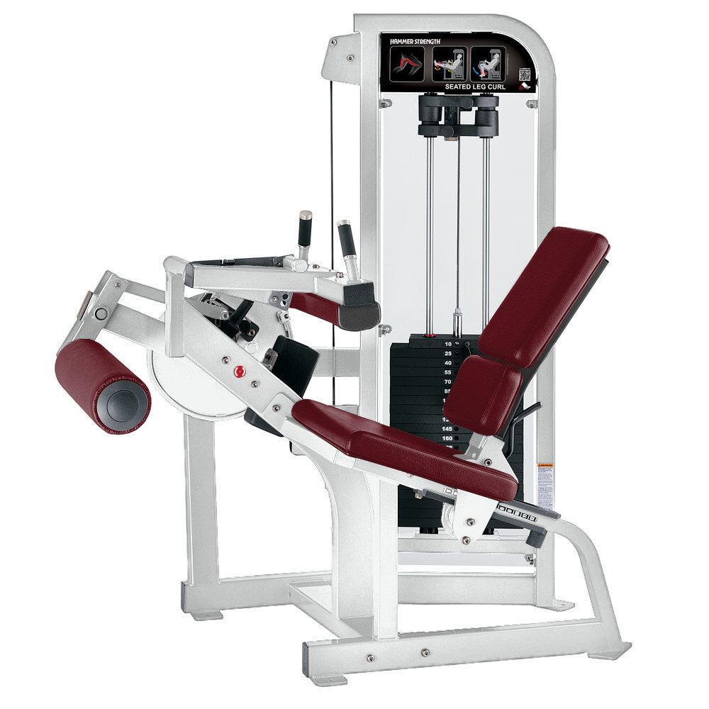 Hammer Strength Pin Select Seated leg Curl